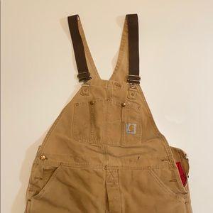 Insulated Carhartt overalls